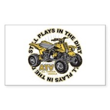 Plays in the Dirt ATV Decal