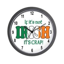 Witty bantings Wall Clock