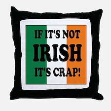 Cute Irish celtic pride Throw Pillow