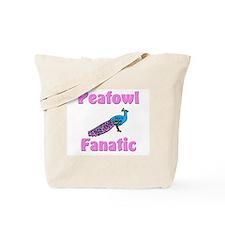 Peafowl Fanatic Tote Bag