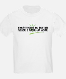 Everything is Better Kids T-Shirt