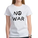 NO WAR Peace Design Women's T-Shirt