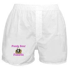 Panda Bear Fanatic Boxer Shorts