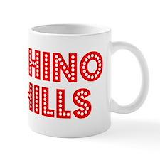 Retro Chino Hills (Red) Mug