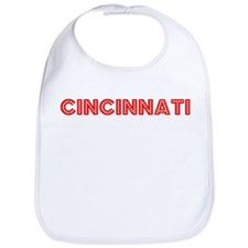 Retro Cincinnati (Red) Bib