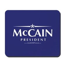 """John McCain 2008"" Mousepad"