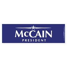 """""""John McCain 2008"""" Bumper Bumper Sticker"""