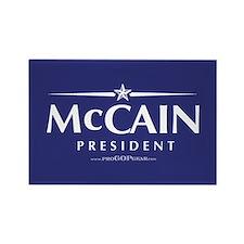 """""""John McCain 2008"""" Rectangle Magnet (100"""