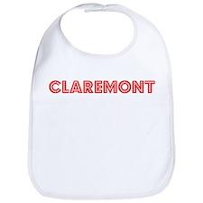 Retro Claremont (Red) Bib