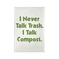 Talk Compost Rectangle Magnet (10 pack)