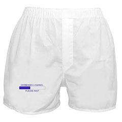 HORMONES LOADING... Boxer Shorts