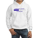 HORMONES LOADING... Hooded Sweatshirt
