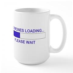 HORMONES LOADING... Large Mug