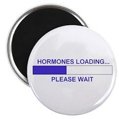 HORMONES LOADING... Magnet