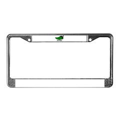 Jalapeno Hot Papa License Plate Frame