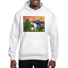 Xmas Fantasy & Toy Fox T Hoodie