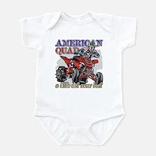 American Quad Infant Bodysuit