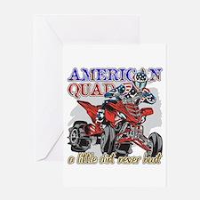 American Quad Greeting Card