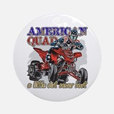 American Quad Ornament (Round)