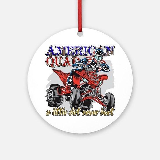 American Quad Ornament (Round)