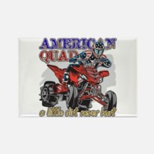 American Quad Rectangle Magnet