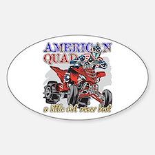 American Quad Decal