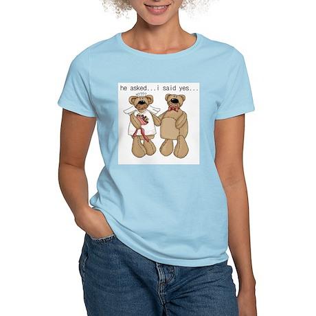 Bride and Groom Bear Women's Light T-Shirt