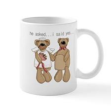 Bride and Groom Bear Mug