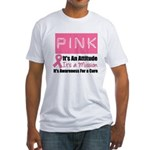 Breast Cancer Mission Fitted T-Shirt