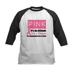 Breast Cancer Mission Kids Baseball Jersey