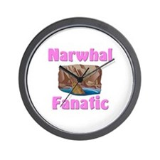 Narwhal Fanatic Wall Clock