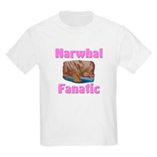 Narwhal Fanatic Kids Light T-Shirt