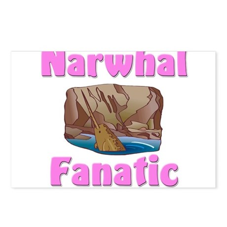 Narwhal Fanatic Postcards (Package of 8)