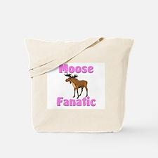 Moose Fanatic Tote Bag