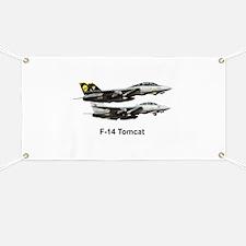 USN F-15 Tomcat Banner