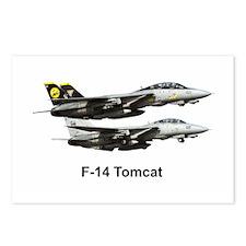 USN F-15 Tomcat Postcards (Package of 8)