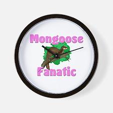 Mongoose Fanatic Wall Clock