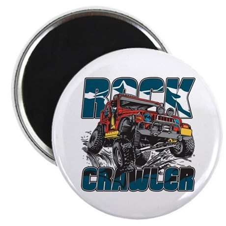 "Rock Crawler 4x4 2.25"" Magnet (100 pack)"