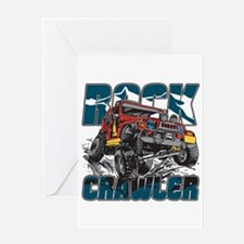Rock Crawler 4x4 Greeting Card