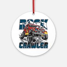 Rock Crawler 4x4 Ornament (Round)