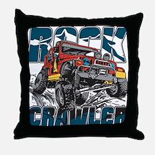 Rock Crawler 4x4 Throw Pillow