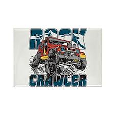 Rock Crawler 4x4 Rectangle Magnet