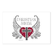 CHRISTIAN BIKER Postcards (Package of 8)