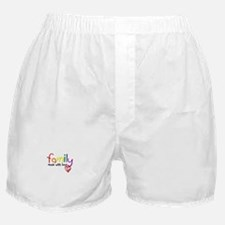 Gay Family Love Boxer Shorts