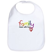Gay Family Love Bib