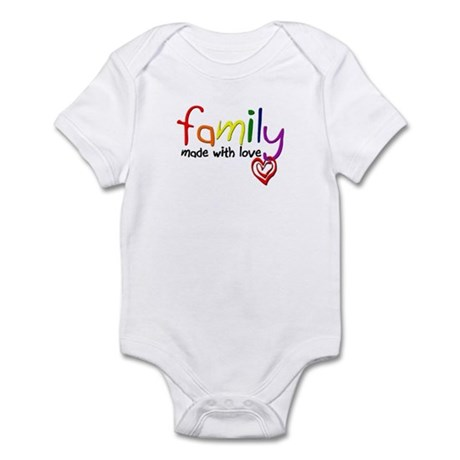 Gay Family Love Infant Bodysuit