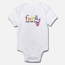 Gay Family Love Infant Bodysuit