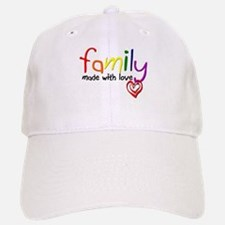 Gay Family Love Baseball Baseball Cap
