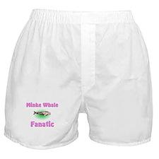 Minke Whale Fanatic Boxer Shorts