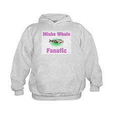 Minke Whale Fanatic Kids Hoodie